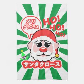 Anime Santa Christmas Hand Towel
