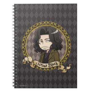 Anime Sirius Black Notebook