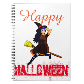 anime witch notebook