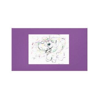 AnimiCASO Elephant Canvas Print