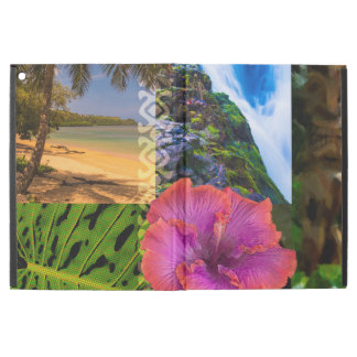 Anini Beach, Kauai Hawaiian Collage