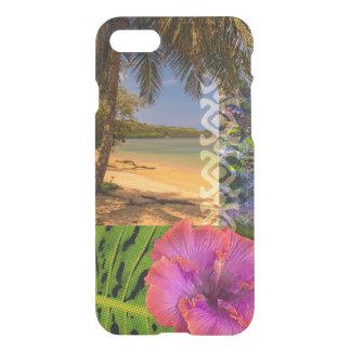 Anini Beach, Kauai Hawaiian Collage iPhone 8/7 Case