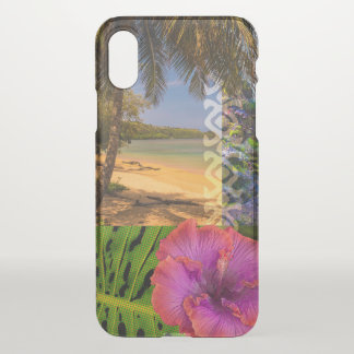 Anini Beach, Kauai Hawaiian Collage iPhone X Case