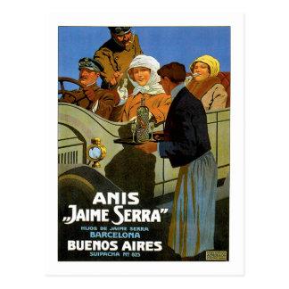 Anis Jaime Serra Buenos Aires Postcard