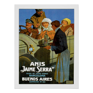 "Anis ""Jaime Serra"" Poster"