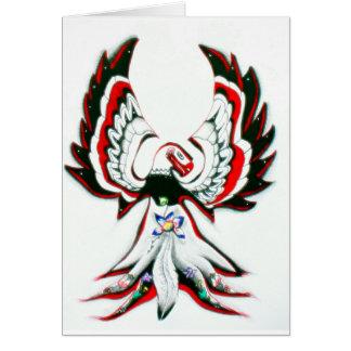 Anishinaabe Thunderbird Card