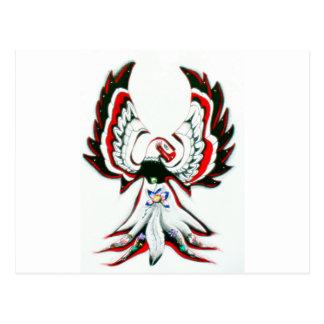 Anishinaabe Thunderbird Postcard