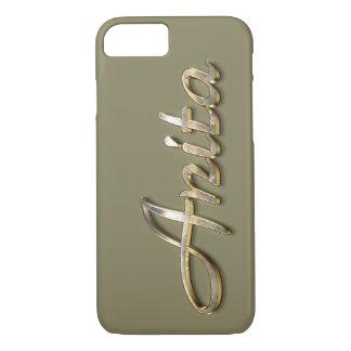 """""""Anita"""" Custom Monogram iPhone 7 Case"""