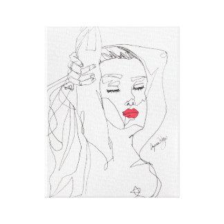 Anita-La Dolce Vita Canvas Print