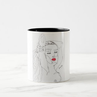 Anita-La Dolce Vita Two-Tone Coffee Mug