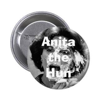 Anita the Hun 2 Inch Round Button