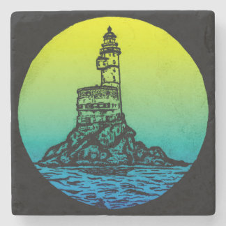 Aniva Lighthouse Stone Coaster