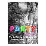 Aniversário Convites