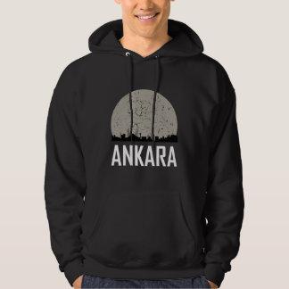Ankara Full Moon Skyline Hoodie