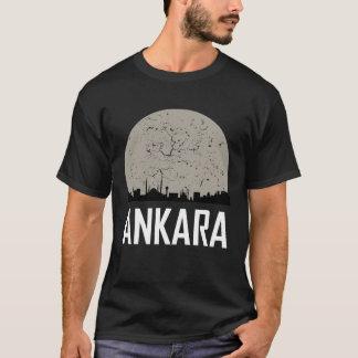Ankara Full Moon Skyline T-Shirt