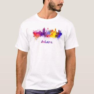 Ankara skyline in watercolor T-Shirt