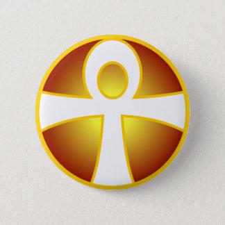 Ankh 2 Inch Round Button