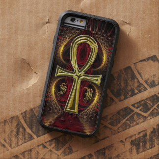 Ankh Gold Goddess Custom Name iPhone 6 Case