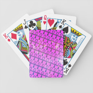 Ankh Pattern Bicycle Playing Cards