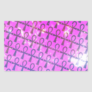 Ankh Pattern Sticker