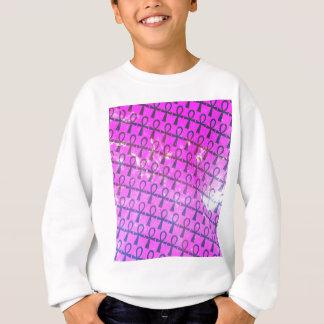 Ankh Pattern Sweatshirt