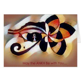 Ankh RA Eye Card