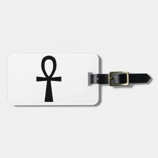 Ankh Symbol Luggage Tag