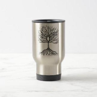 Ankh  Tree of LIfe Design Travel Mug