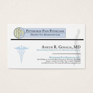 Ankur R. Gosalia - PittPain business card