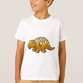 Ankylosaurus Dinosaur Cartoon Character T-Shirt