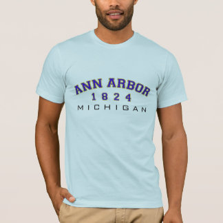 Ann Arbor, MI - 1824 T-Shirt