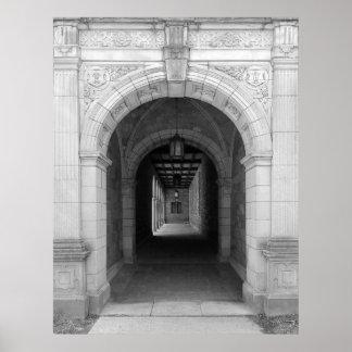 Ann Arbor Michigan Archway Poster