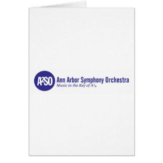 Ann Arbor Symphony Orchestra Card