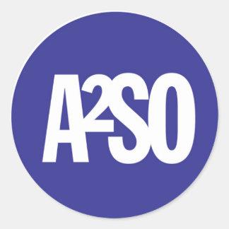 Ann Arbor Symphony Orchestra Classic Round Sticker