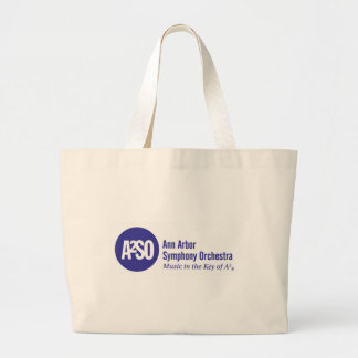Ann Arbor Symphony Orchestra Large Tote Bag
