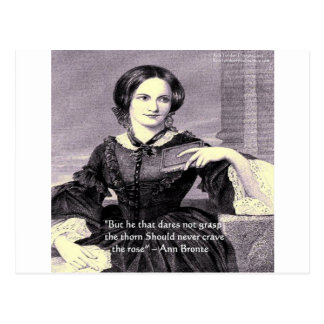 "Ann Bronte ""Rose Thorn"" Wisdom Quote Gifts & Cards"