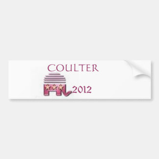 Ann Coulter  2012 Bumper Stickers