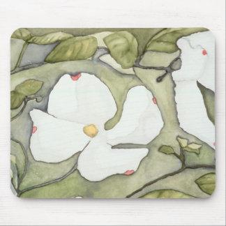 Ann Haaland Dogwood Flower Mouse Pad
