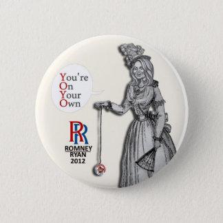 Ann Romney: YOYO 2 Inch Round Button