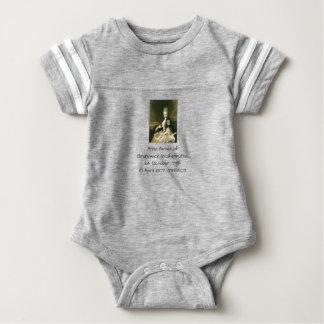 Anna Amalia of Brunswick-Wolfenbuttel 1739-1807 Baby Bodysuit