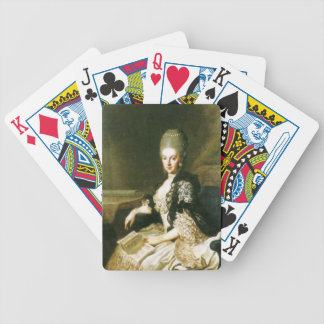 Anna Amalia of Brunswick-Wolfenbuttel 1739-1807 Bicycle Playing Cards