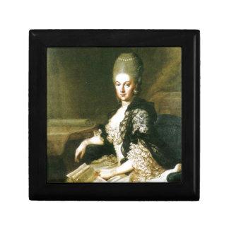 Anna Amalia of Brunswick-Wolfenbuttel 1739-1807 Gift Box