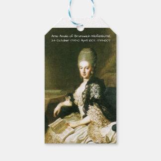 Anna Amalia of Brunswick-Wolfenbuttel 1739-1807 Gift Tags
