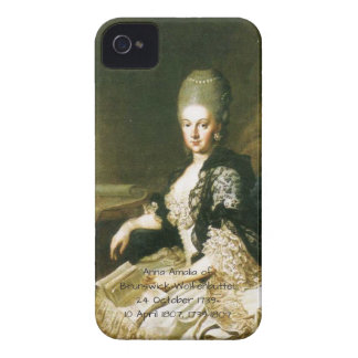 Anna Amalia of Brunswick-Wolfenbuttel 1739-1807 iPhone 4 Cover