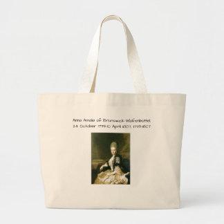 Anna Amalia of Brunswick-Wolfenbuttel 1739-1807 Large Tote Bag