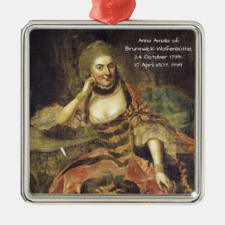 Anna Amalia of Brunswick-Wolfenbuttel 1739 Metal Ornament