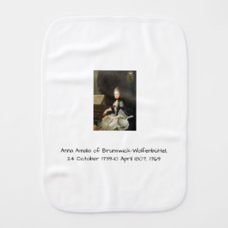 Anna Amalia of Brunswick-Wolfenbuttel 1769 Burp Cloth