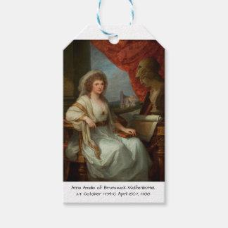 Anna Amalia of Brunswick-Wolfenbuttel 1788 Gift Tags