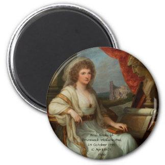 Anna Amalia of Brunswick-Wolfenbuttel 1788 Magnet