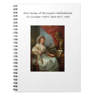 Anna Amalia of Brunswick-Wolfenbuttel 1788 Notebook